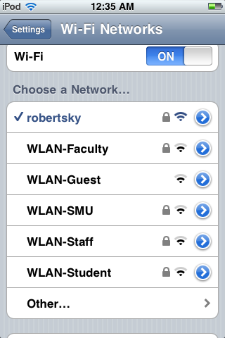 Quick Tip: WLAN-SMU for iDevices