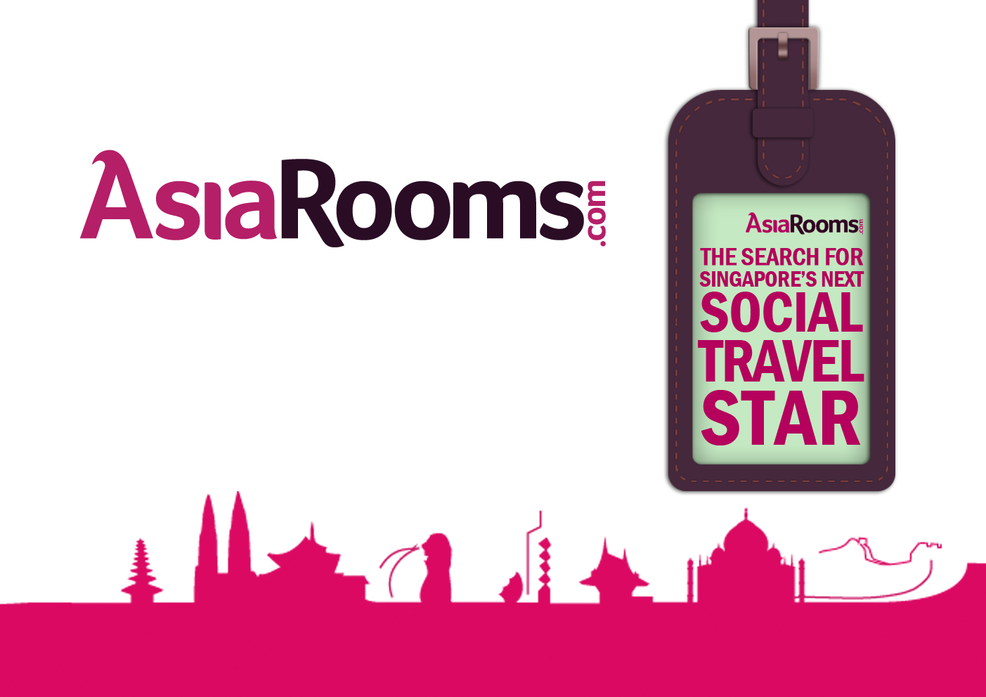 AsiaRooms found their Social Travel Stars