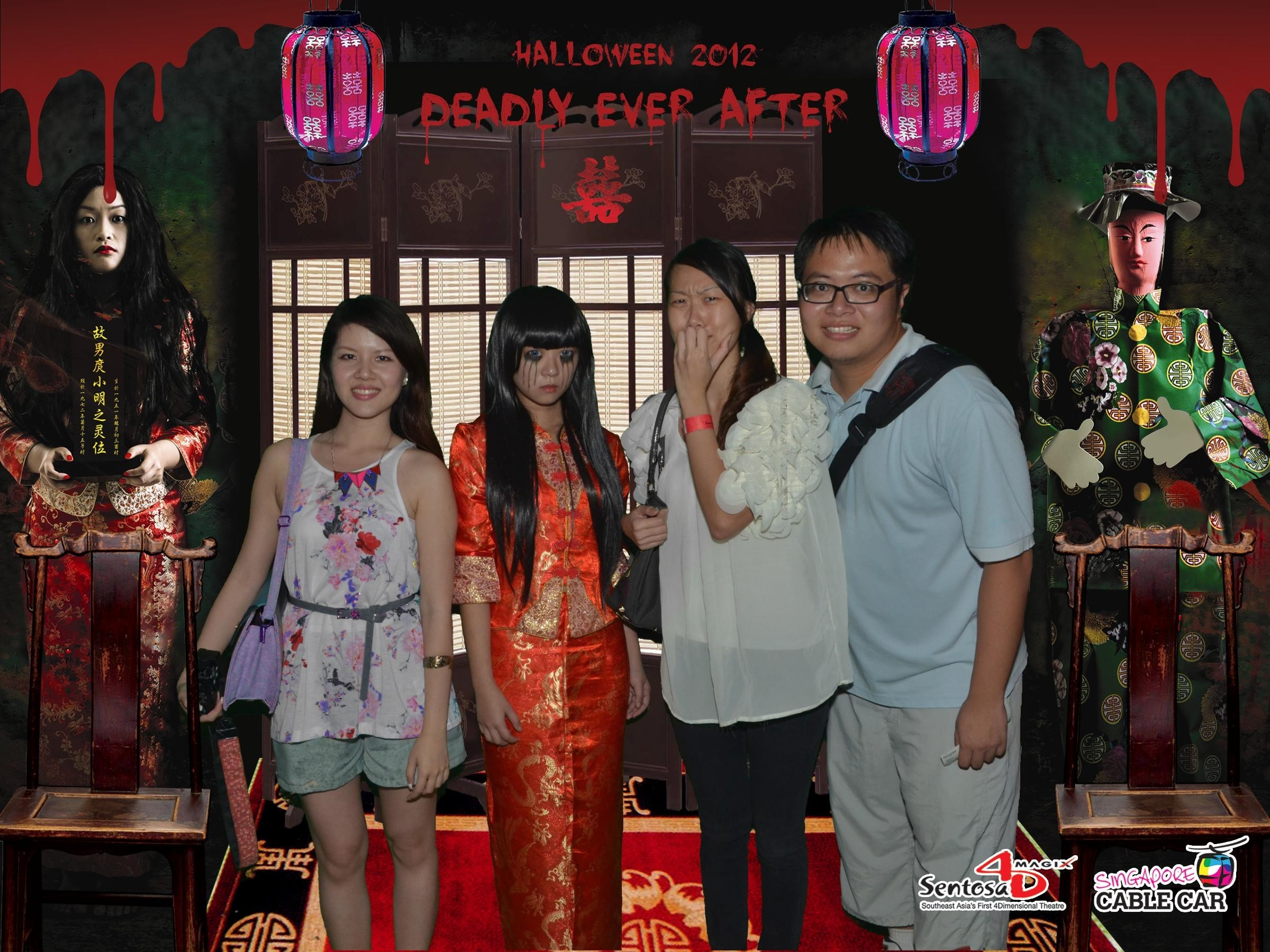 Deadly Ever After at Sentosa 4D Magix