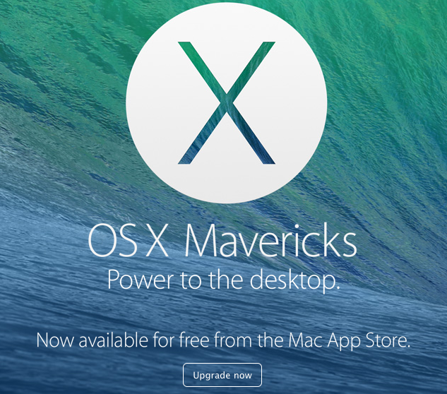 Free Mac OS 10.9 Maverick Upgrade