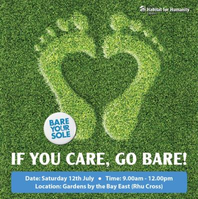 Step up for a good cause at Bare Your Sole 2014