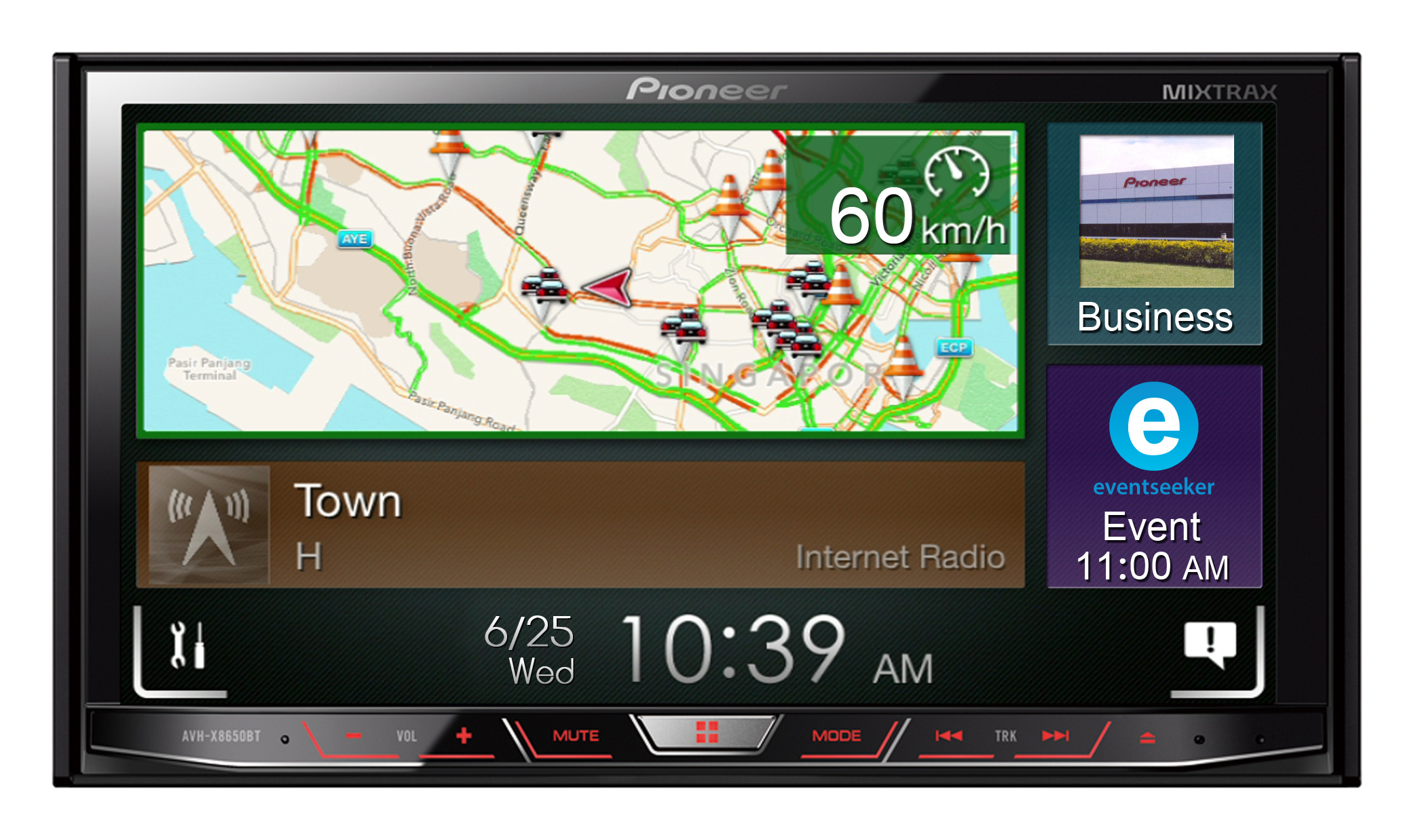 News: Pioneer delivers dynamic content to the car with AppRadioLIVE app