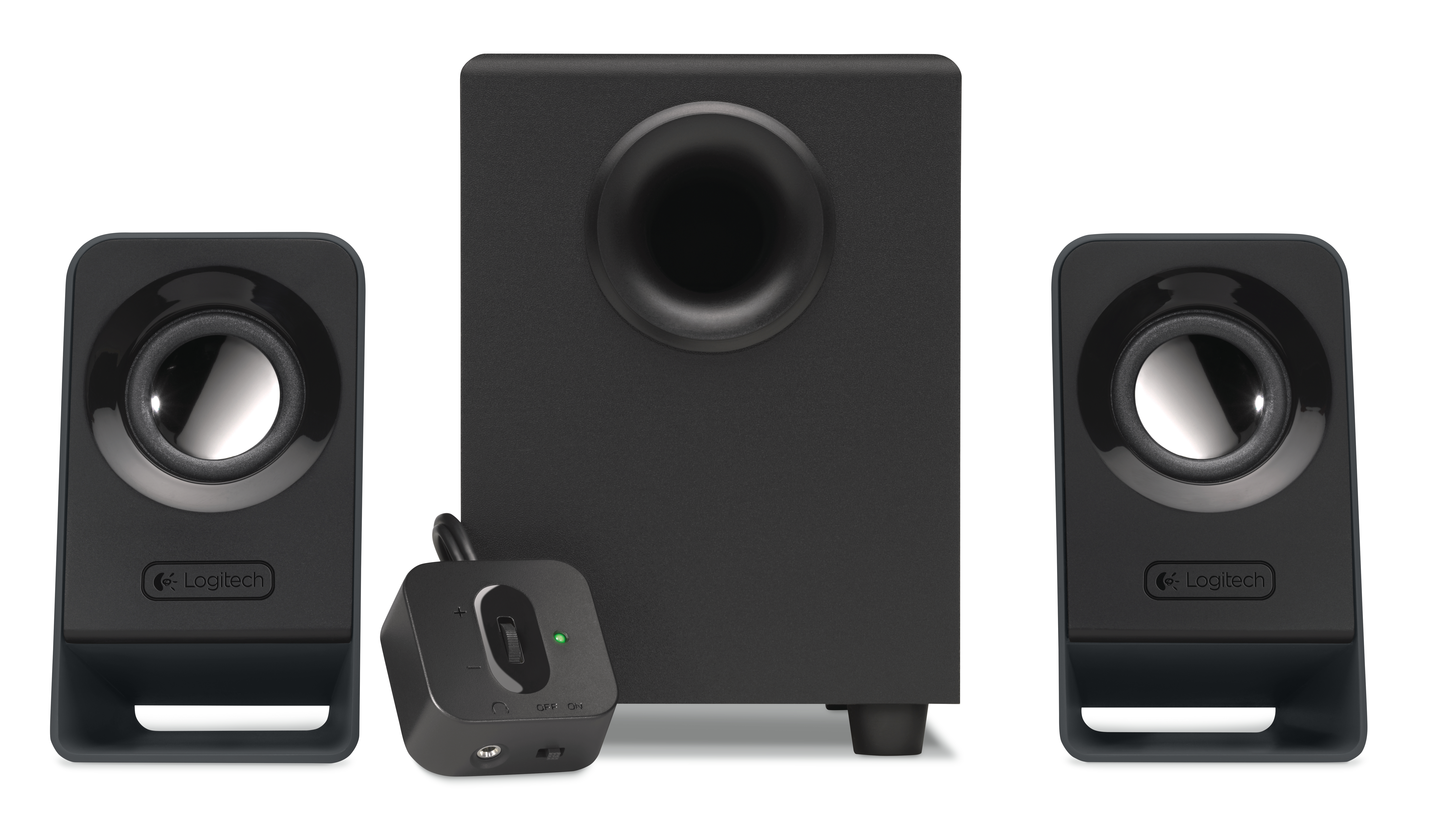 Logitech Introduces New Multimedia Speaker System with Space-Saving Design and Loud Bass