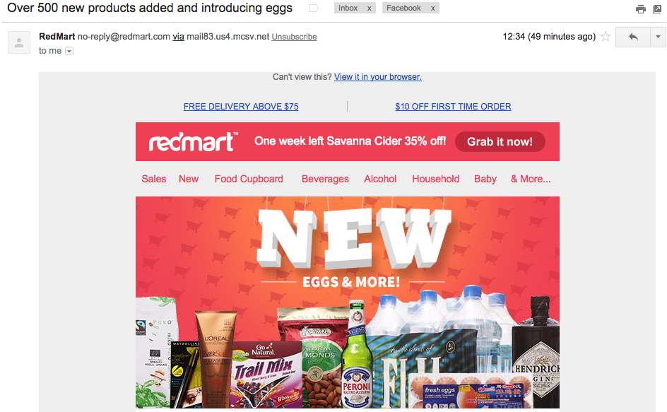RedMart has fresh eggs now!