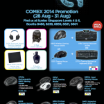 2014 Comex Show_Logitech G promotional offers